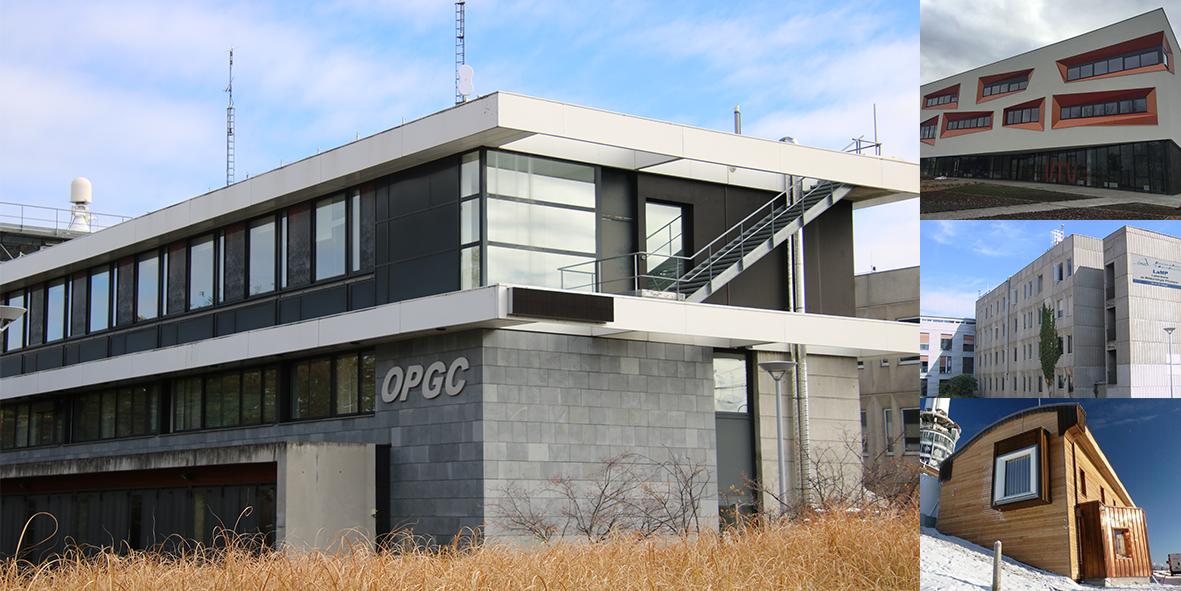 bâtiment OPGC Cézeaux